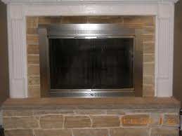 Ideas Fireplace Doors Outstanding Fireplace Doors With Blowers Contemporary Best Ideas