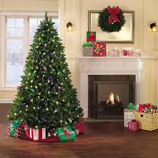 interesting decoration 7ft artificial tree pre lit trees