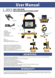 10w rechargeable flood light flood light rechargeable white led ip65 cursonline watches