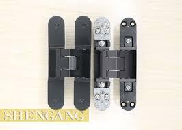 Adjustable Hinges For Exterior Doors Resistance Invisible Door Hinges Adjustable Black For Exterior Doors