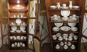 how to display china in a cabinet china cabinet artistry interiors llc