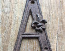 Rustic Iron Mail Slot Outdoor - cast iron letter etsy
