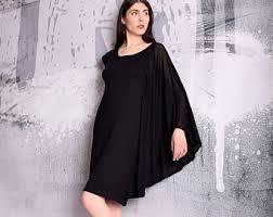 black dress etsy