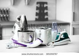 Table In Kitchen Cute Young Couple Drinking Coffee Kitchen Stock Photo 585687491