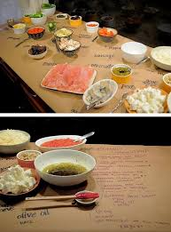 make your own buffet table 91 best food party buffet walking dinner groups images on