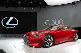 2018 lexus lc 500 new 2018 lexus lc 500 is a spicy 467 hp flagship coupe autoguide com