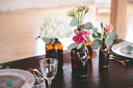 Small Vase Flower Arrangements How To A Modern Diy Hydrangea Centerpiece That Anyone Can Make
