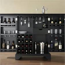Folding Home Bar Cabinet Folding Bar Home Bars Cymax Stores