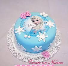 torta frozen torta elsa frozen cake cuenta con nosotras niñas