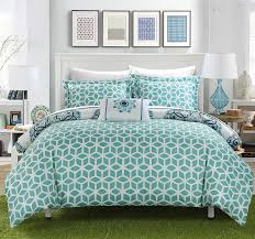 Bed In A Bag Duvet Cover Sets by Amazon Com Chic Home Barcelona 8 Piece Reversible Comforter Set