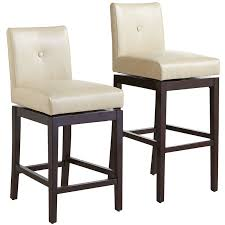 Swivel Counter Stools With Back Mattie Ivory Swivel Counter U0026 Bar Stool Pier 1 Imports