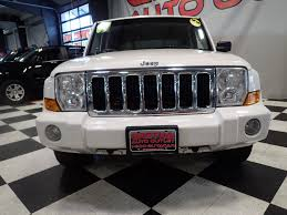white jeep commander for sale used cars on buysellsearch
