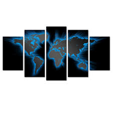 popular mural paintings walls buy cheap mural paintings walls lots world map mural modern abstract painting wall decor art canvas 5pcs picture historical world map poster