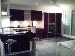 couleur tendance pour cuisine cuisine blanche mur aubergine 4 davaus couleur de mur pour idées