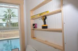 wall bookshelf ideas built in the wall shelving reclaiming hidden storage space