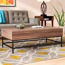 lift top coffee table with storage ivy bronx reda lift top coffee table with storage reviews wayfair ca