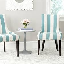 Amazon Com Safavieh Mercer Collection by Amazon Com Safavieh Mercer Collection Lester Dining Chair Aqua