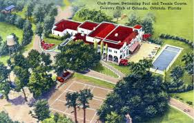 florida memory club house swimming pool and tennis courts