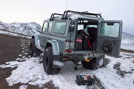 land rover snow defenders of iceland u2013 alloy grit