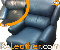 best leather restoration company customer positive reviews
