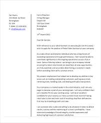 10 sales cover letters free sample example format download