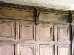 furniture excellent oak paneling very nice for use crown molding