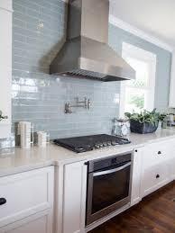 Blue Tile Kitchen Backsplash Blue Subway Tile Kitchen Ppi