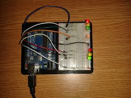 arduino traffic light controller system