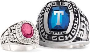 highschool class ring antique diamond earrings deco gold stroudsburg high school ring