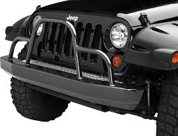 brush guard jeep warrior products 59050 front rock crawler bumper with brush guard