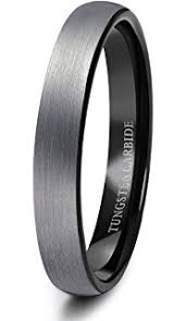 just men rings tungary tungsten rings for men wedding engagement band brushed