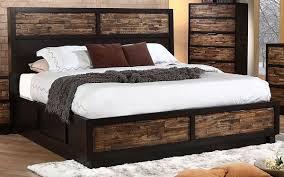 King Platform Storage Bed Outstanding Rustic Cal King Platform Storage Bed Home Design Ideas