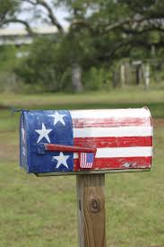 How To Paint American Flag Wooden American Flag Painted Mailbox Free Image Peakpx