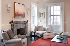 Living Room Without Rug Round Chaise Lounge Living Room Contemporary With Arched Doorway