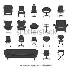 modern chairs stock vector 141058042 shutterstock