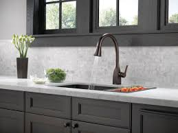 Delta Touch Kitchen Faucet Faucet Com 9183t Ar Dst In Arctic Stainless By Delta