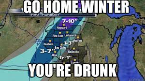 Wisconsin Meme - this weather is awful can t wait for summer to roll around brrr