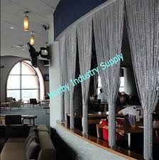 aluminium chain curtain room divider for restaurant buy