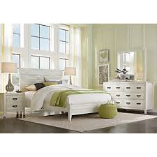 palm grove white 5 pc king panel bedroom king bedroom sets white