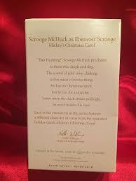 Christmas Carols Invitation Cards Amazon Com Qx8406 Scrooge Mcduck As Ebenezer Scrooge Mickey U0027s