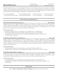 Wedding Resume Sample by Resume For Wedding Planner Free Resume Example And Writing Download
