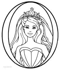 barbie pearl princess coloring pages princess