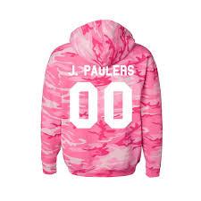 jake paul camo hoodie fanjoy