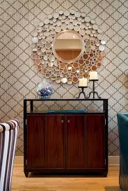 Mirrored Wall Decor by Best Circle Mirror Wall Decor Pictures Home Design Ideas