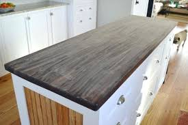 butcher block table top home depot butcher block table tops sand your butcher block before you apply a