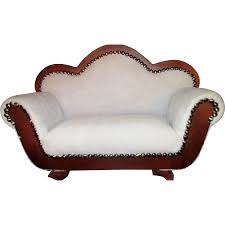 Fainting Sofa For Sale Victorian Styled Sofa Fainting Couch Miniature Salesman Sample