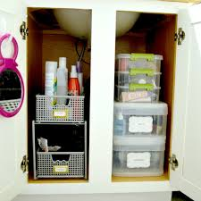 Bathroom Cabinet Organizer Organizing The Bathroom Cabinet Dear