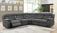 Sectional Recliner Sofas Microfiber Sectional Sofas Loveseats And Chaises Ebay