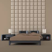 Bedroom Wall Padding Uk Muriva Bluff Square Padding Pattern Fabric Textured Wallpaper F79807