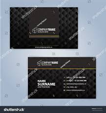 business card design templates luxury graphic stock vector